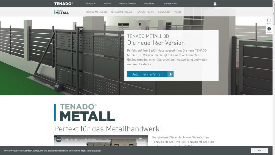 Współpraca z niemiecką firmą Tenado Metal.